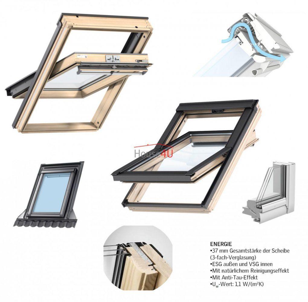 Dachfenster Velux Ggl 3068 Energie 3Fachverglasung Schwingfenster von Velux 3 Fach Verglasung Photo