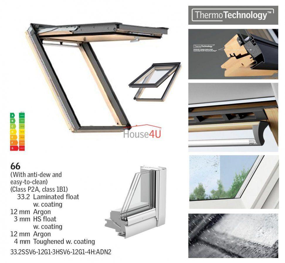 Dachfenster Velux Gpl 3066 Energystar Das Holzfenster Mit Dem von Velux 3 Fach Verglasung Photo