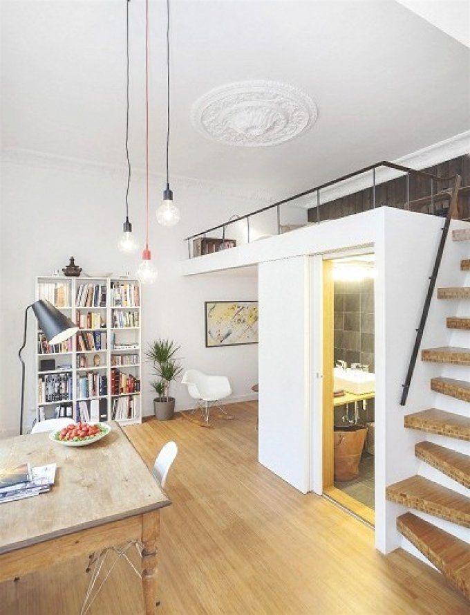 Dachgeschoss Wohnungen Einrichten Ideen]  85 Images  Wohnung von Kleine Wohnung Einrichten Intelligente Wände Photo