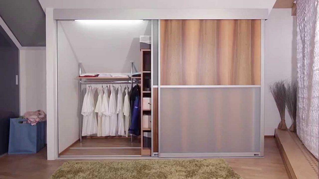 Dachschrägenschrank Von Auf&zu  Youtube von Kleiderschrank Selber Bauen Dachschräge Photo