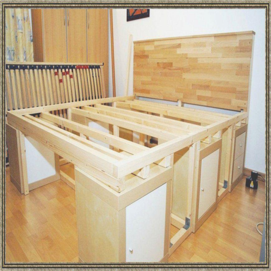 Das Brillant Zusätzlich Zu Atemberaubend Massivholz Bett Selber Von Massivholz  Bett Selber Bauen Bild