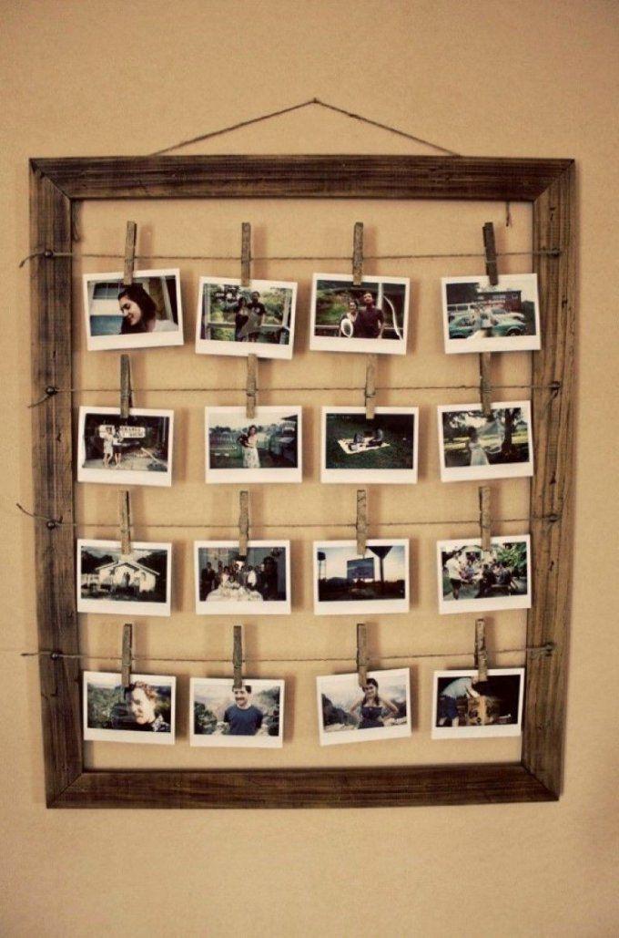 Deko Mit Erinnerungen 11 Ideen Mit Denen Sie Fotocollage Selber von Fotocollage Auf Leinwand Selber Machen Bild