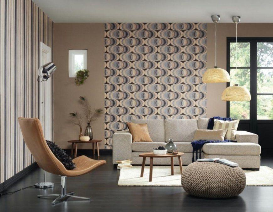 Deko Tapete Wohnzimmer Wohnzimmer Tapeten Ideen Modern And von Wohnzimmer Tapeten Ideen Modern Bild