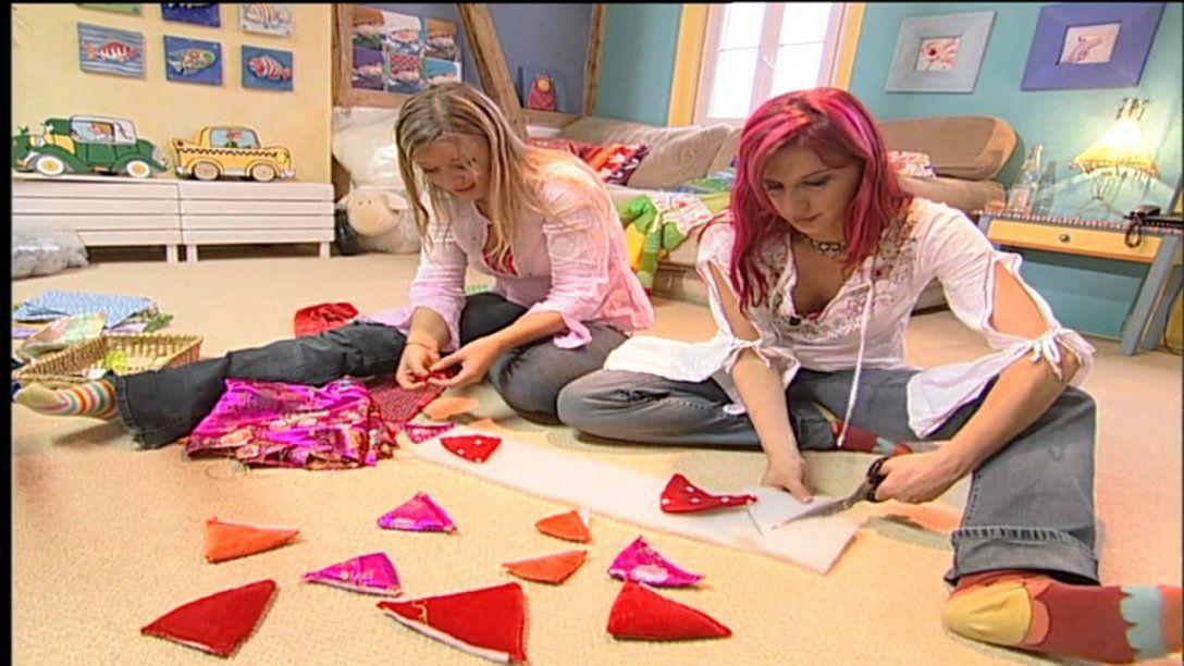 Deko Tipps Fürs Kinderzimmer Stoffdrache Nähen  Youtube von Baldachin Nähen Für Kinderzimmer Photo