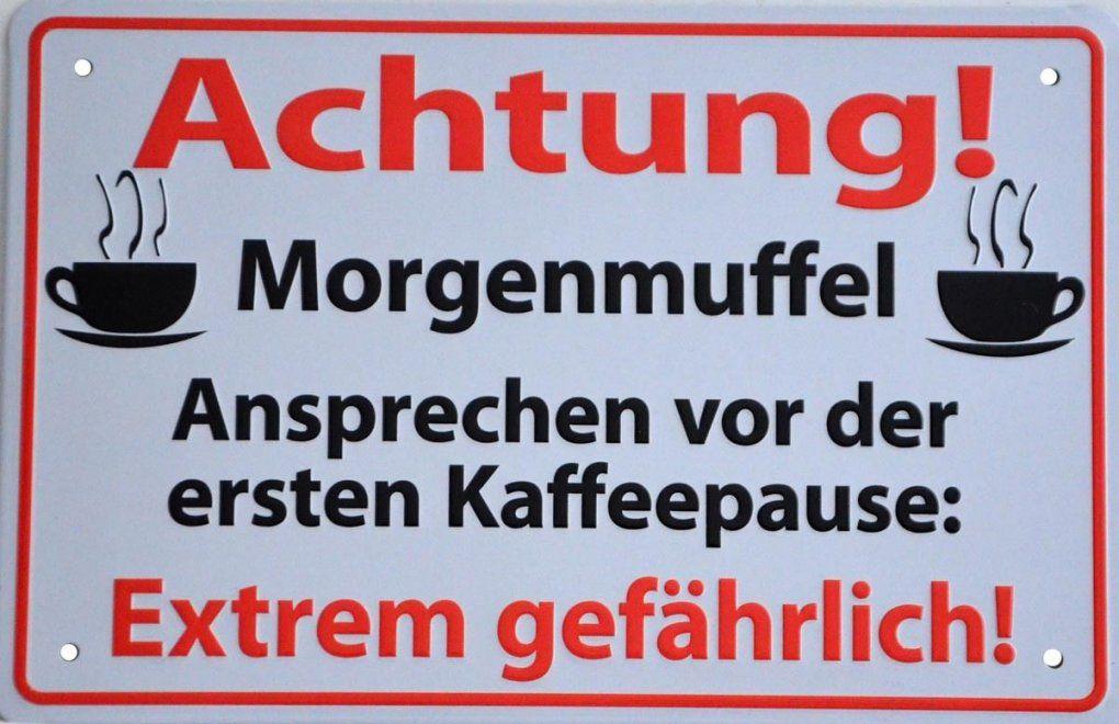 Dekoblechschildschildspruchmetallsprücheschilderblechgefahr von Deko Schilder Mit Sprüchen Bild