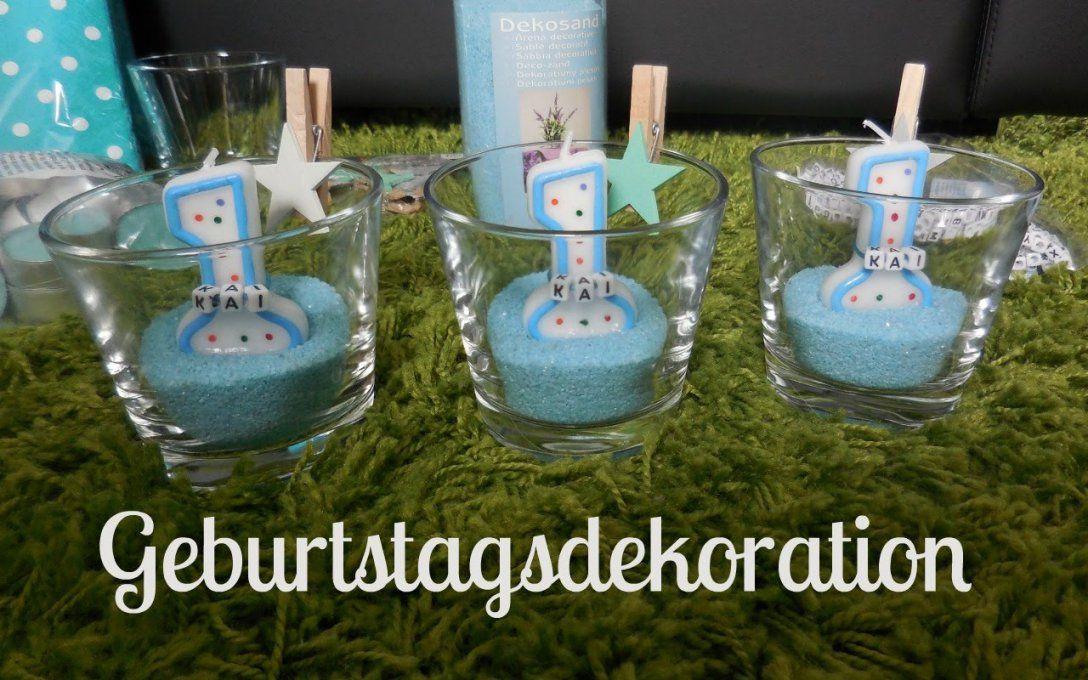 Dekoration Fur Den 1 Geburtstag I Geburtstagsdeko I Von Tischdeko
