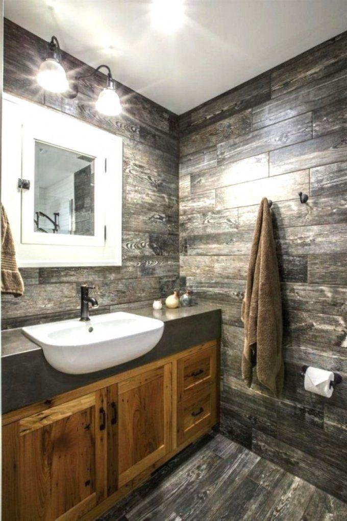 Dekoration Leicht Gemacht  Komisch Badezimmer Rustikal Und Trotzdem von Badezimmer Rustikal Und Trotzdem Cool Bild