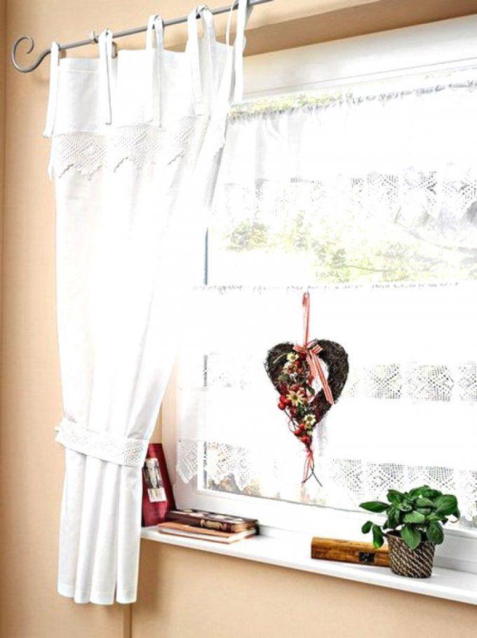 Dekoration Leicht Gemacht  Trends Landhausgardinen Romantische von Landhausgardinen Romantische Raffgardinen Rosen Bild
