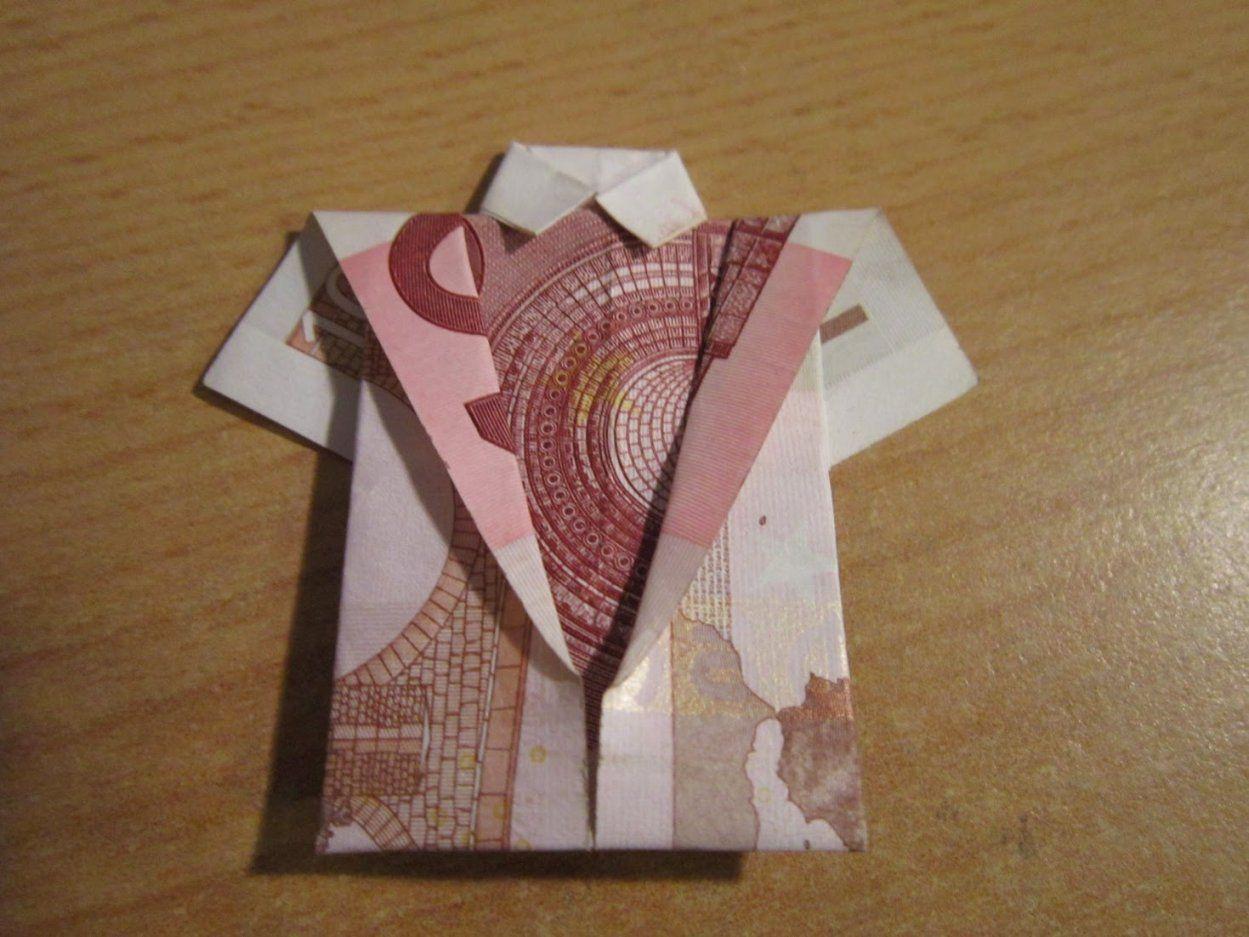 geldgeschenke noten falten von geld zum hemd falten bild haus design ideen. Black Bedroom Furniture Sets. Home Design Ideas