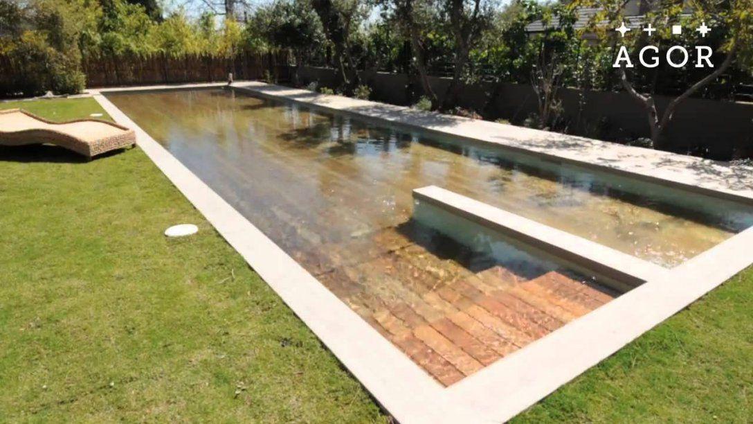 Der Versteckte Pool Im Garten  Youtube von Pool Winterabdeckung Selber Bauen Bild