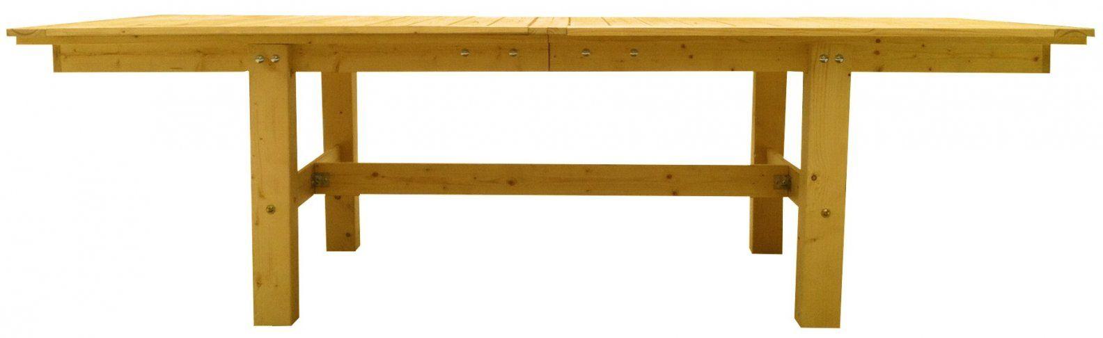 Die Teilbare Gartentafel  Der Kellerwerker von Untergestell Tisch Selber Bauen Bild