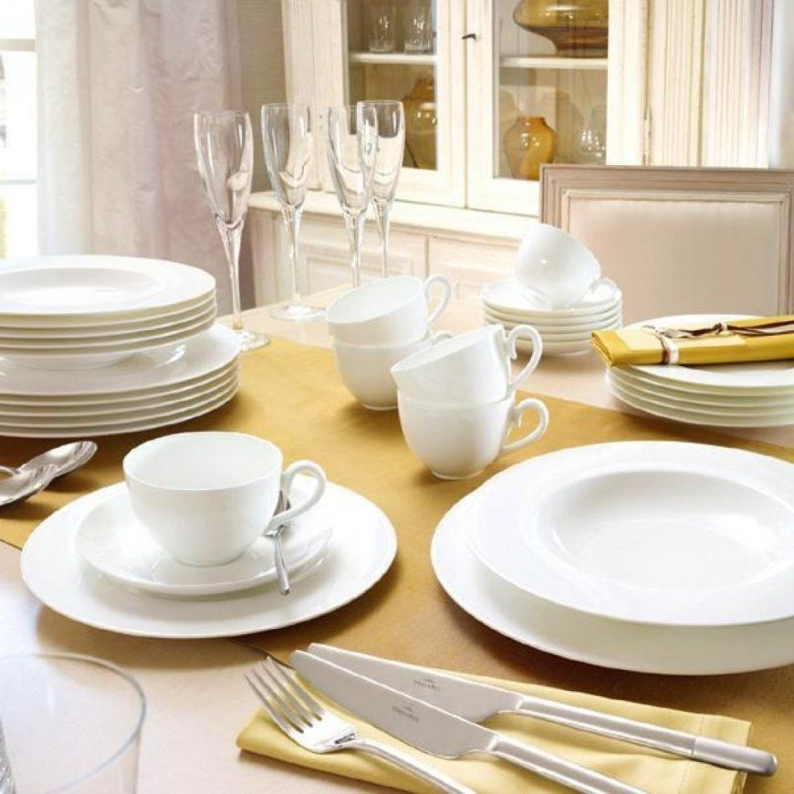 Dinnerware Villeroy & Boch Cellini 50Piece Dinnerware Set von Villeroy & Boch Royal Basic Set 30 Tlg Bild