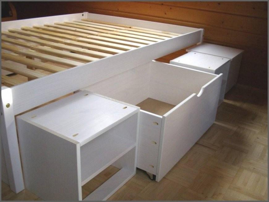 Diy Ikea Hack Plattform Bett Selber Bauen Aus Ikea Kommoden Von Bett von Bett Selber Bauen Ikea Bild