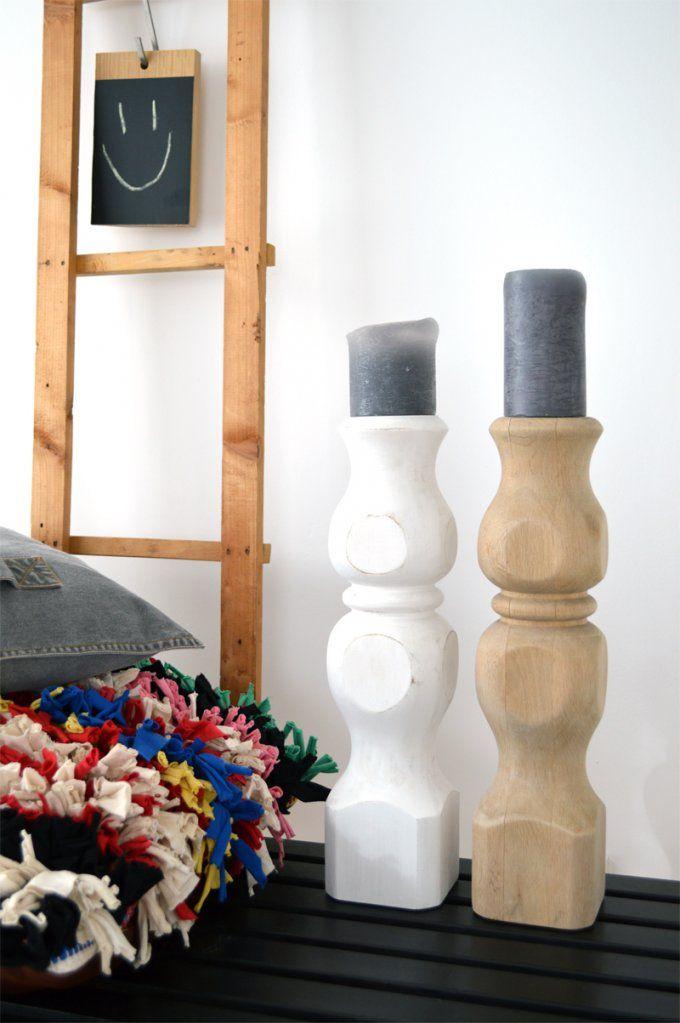 Diy  Kerzenständer Aus Holz Selber Machen von Holz Kerzenständer Selber Machen Photo