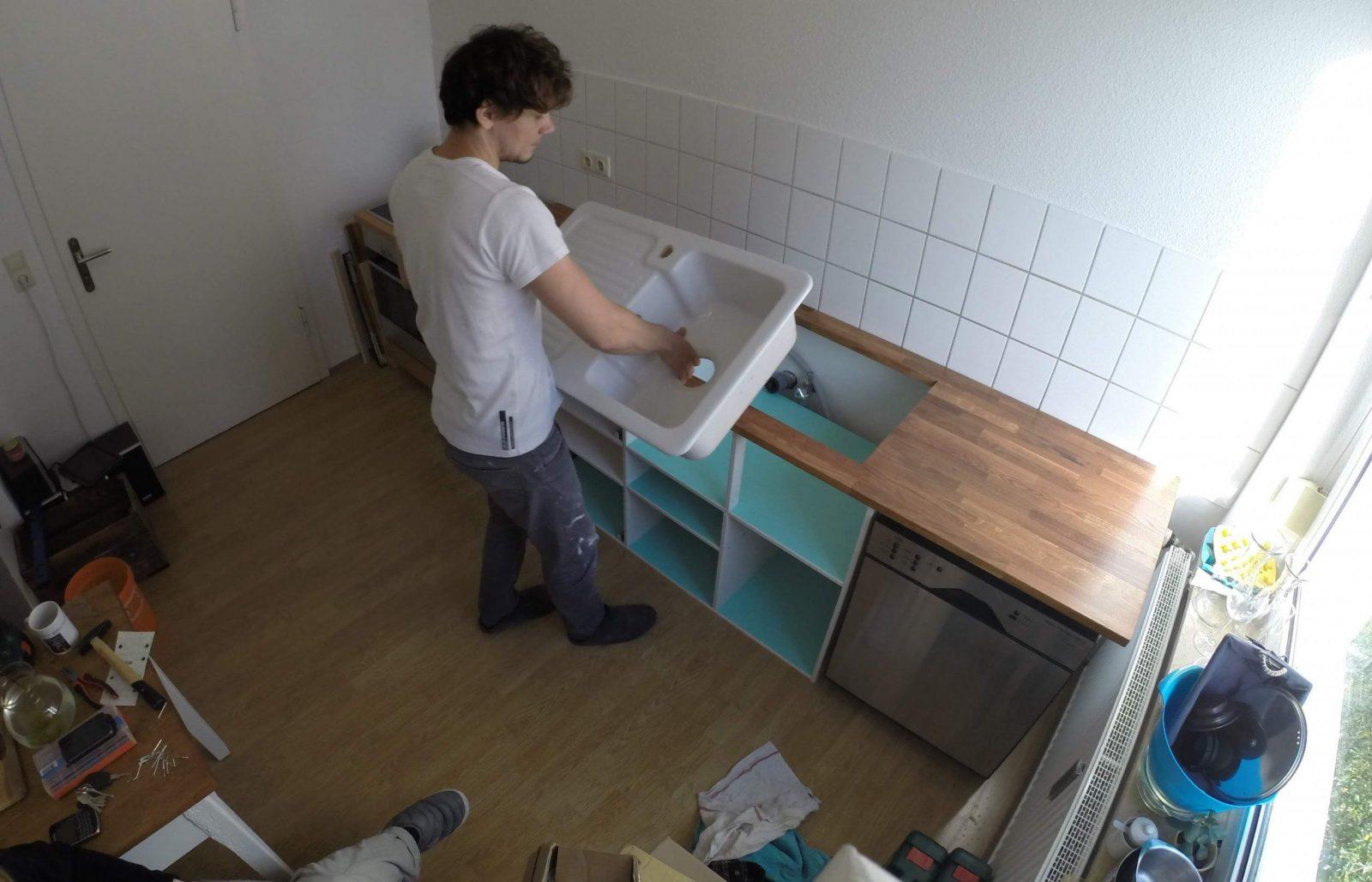Diy Küche Selbst Gebaut  Youtube von Küchenschränke Selber Bauen Anleitung Photo