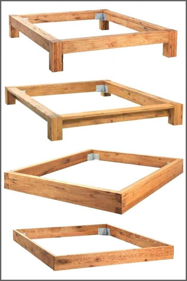 Diy Massivholz Bett Selber Bauen Inspiration Bett Von Balkenbett von Massivholz Bett Selber Bauen Bild