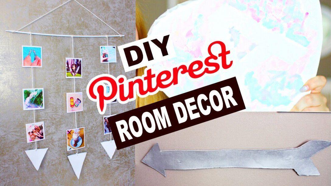 Diy Pinterest Deko Ideen → Deko Selber Machen  Zimmer Dekorieren von Zimmer Dekoration Selber Machen Bild
