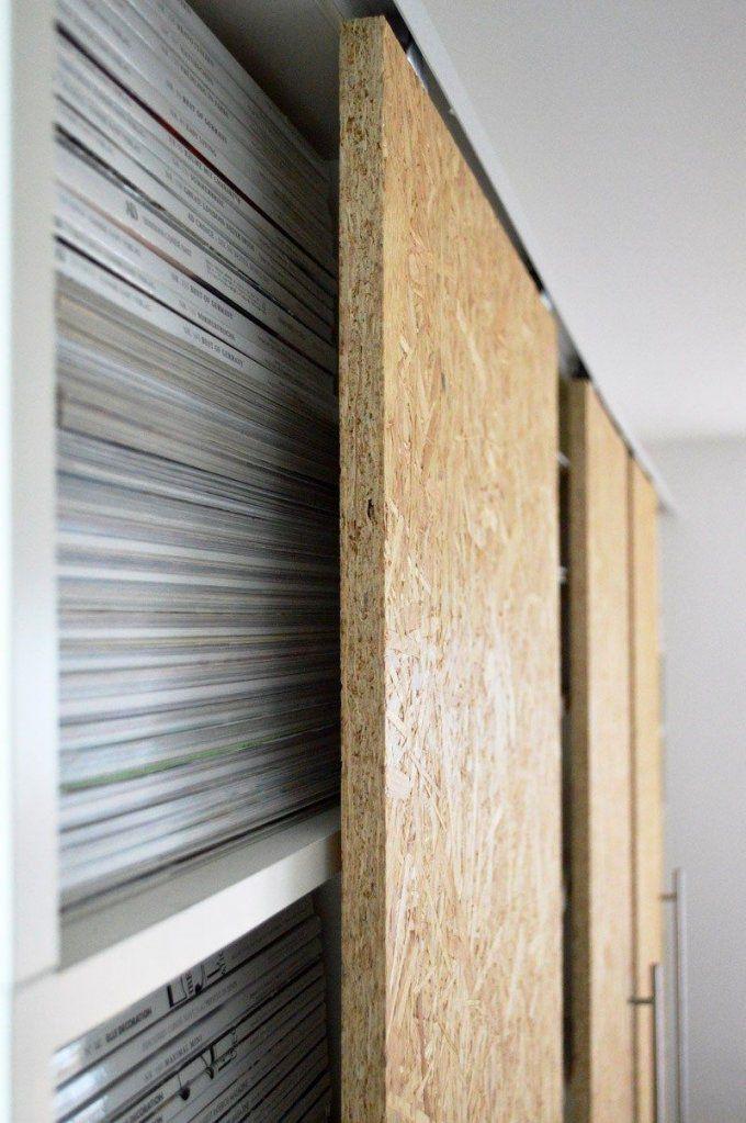 Diy Schiebetüren Selber Machen Ikea Hack Billy (4)  Diy  Pinterest von Schiebetür Selber Bauen Anleitung Bild