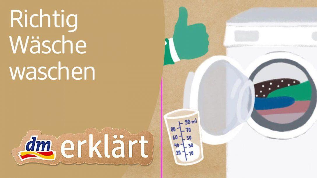 Dm Erklärt Wie Viel Waschpulver Brauchen Wir Wenn Wir Wäsche von Unterwäsche Waschen Wieviel Grad Bild