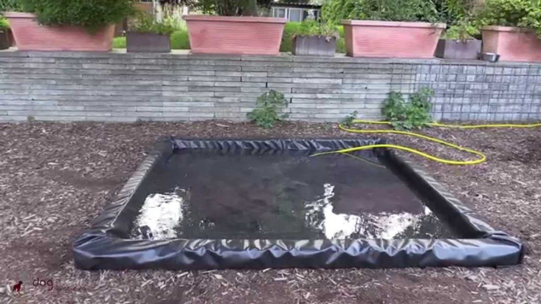 Do It Yourself Hundepool  Youtube von Hunde Pool Selber Bauen Bild