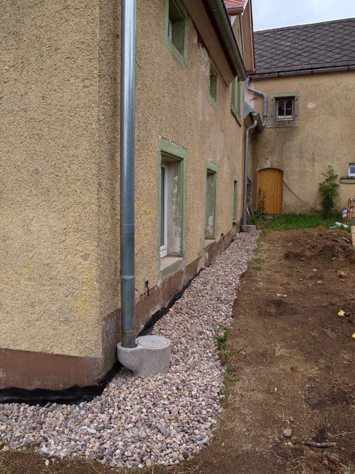 Drainage Haus Frisch Wand Um Drainage Haus Kies F R Drainage Eg von Drainage Ums Haus Kosten Photo