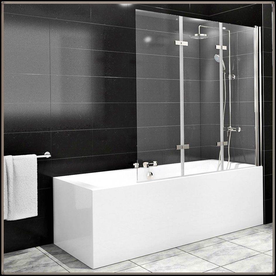 Duschabtrennung Badewanne Glas  Designideen Für Zu Hause von Duschwand Glas Für Badewanne Photo