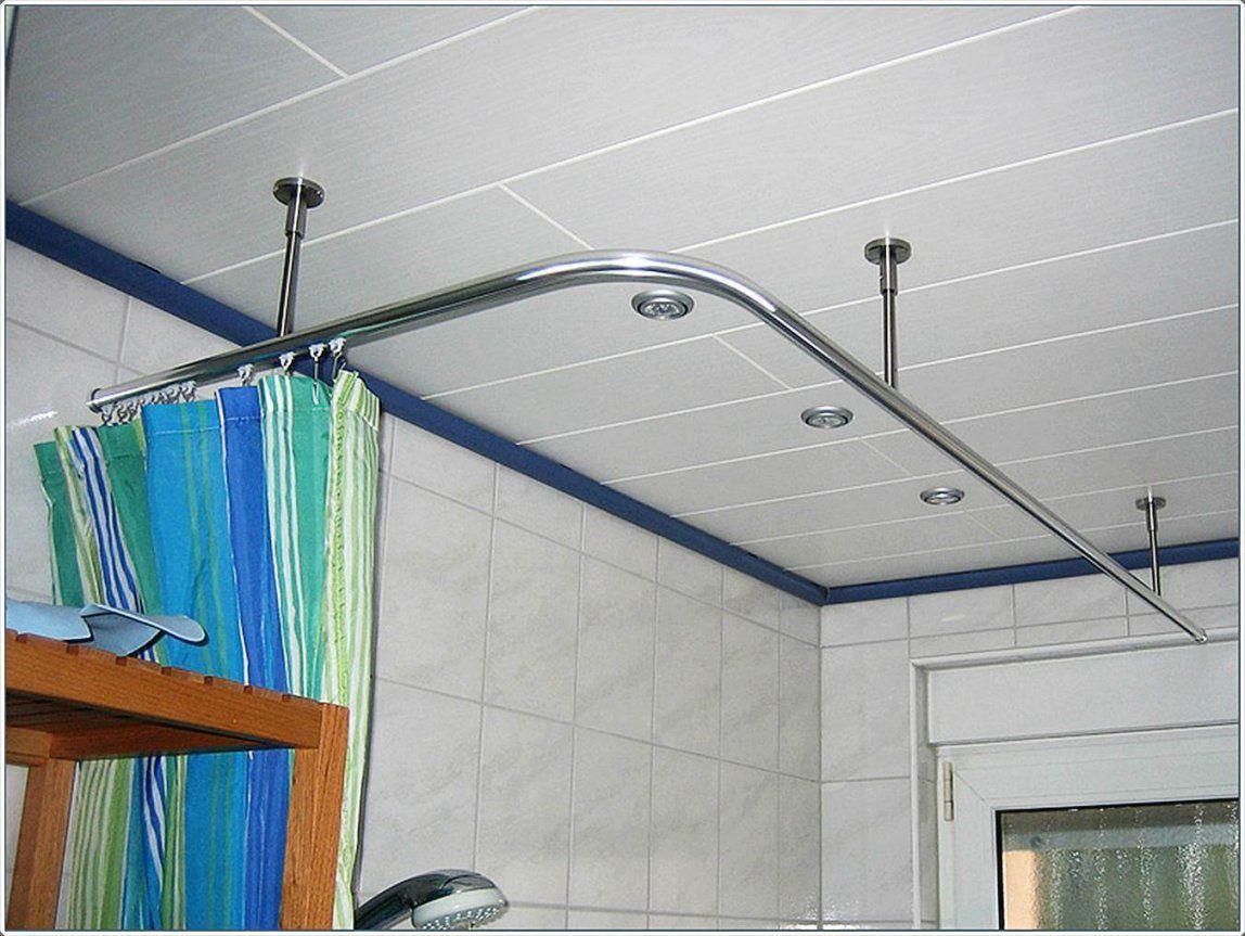 Duschvorhang Für Badewanne Ohne Bohren  Ideen Für Zuhause von Duschstange Für Badewanne Ohne Bohren Photo