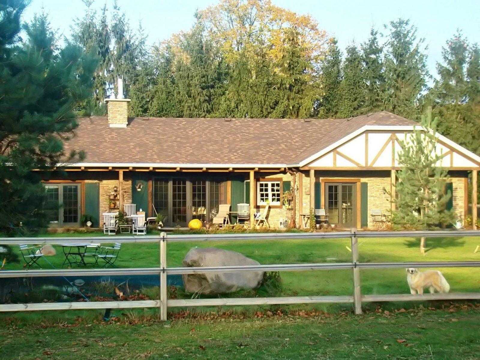 ᐅ Amerikanisches Haus Bauen  Preise  Grundrisse  Kataloge von Amerikanische Häuser In Deutschland Bild