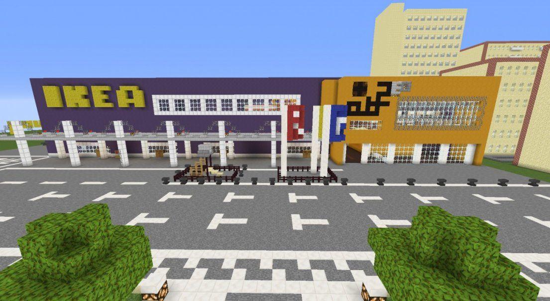 ᐅ Ikea In Minecraft Bauen  Minecraftbauideen von Minecraft Bauideen Zum Nachbauen Bild