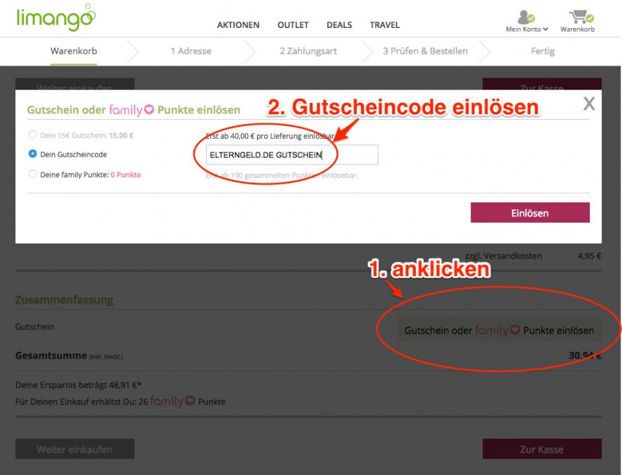 ᐅ Limango Gutschein 2018 15 Euro Gutscheincode Von Otto Gutschein