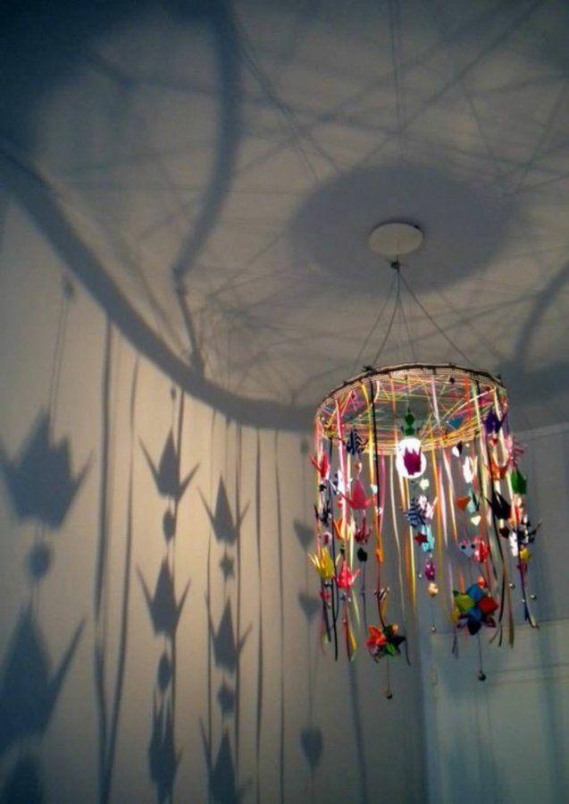 ▷ Lampenschirme Selber Machen  30 Inspirierende Bastelideen von Lampenschirm Gestell Selber Machen Photo