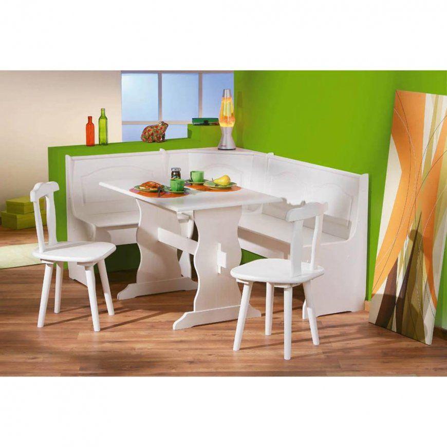 Eckbank Weiß Eckbankgruppe Bank Esstisch 2 Stühle  Real von Kleine Eckbank Mit Tisch Photo