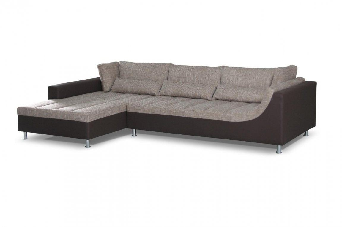 Ecksofa Lauro Mit Ottomane Links In Braun – Abmessungen 310 X 204 von Ecksofa Mit Ottomane Links Photo