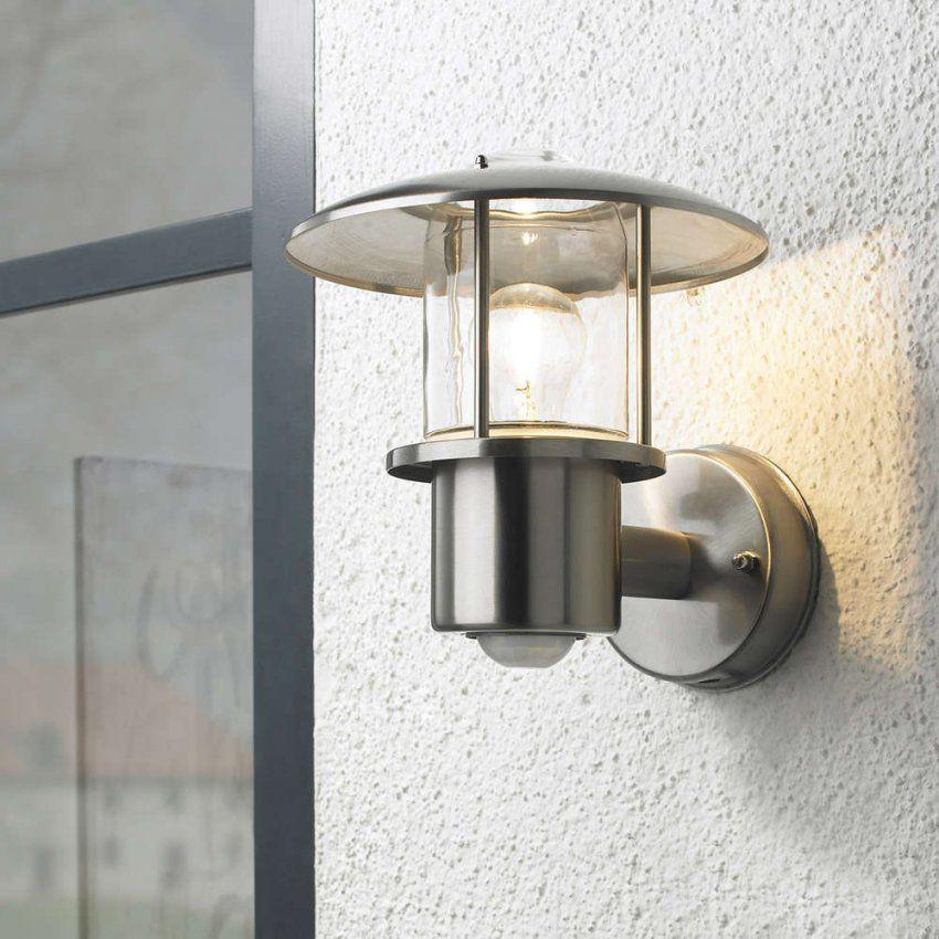 Edelstahl Aussenleuchte 117P2 Bware  Leuchtenservice Shop von Außenleuchte Mit Bewegungsmelder Und Dauerlicht Bild