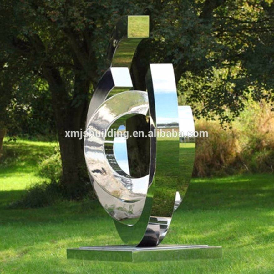 Edelstahl Skulpturen F R Den Garten Mit Sch Ne Auen Von