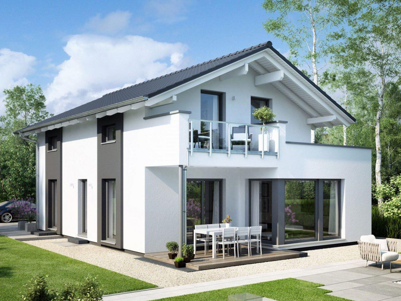 Edition 2 V3 • Einfamilienhaus Von Bienzenker • Schickes Fertighaus von Bien Zenker Evolution Stuttgart Photo