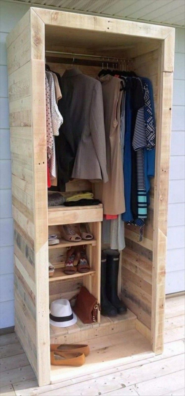 Ehrfurcht Gebietend Garderobe Selber Bauen Aus Paletten 22 Diy Ideen von Garderobe Aus Paletten Selber Bauen Bild