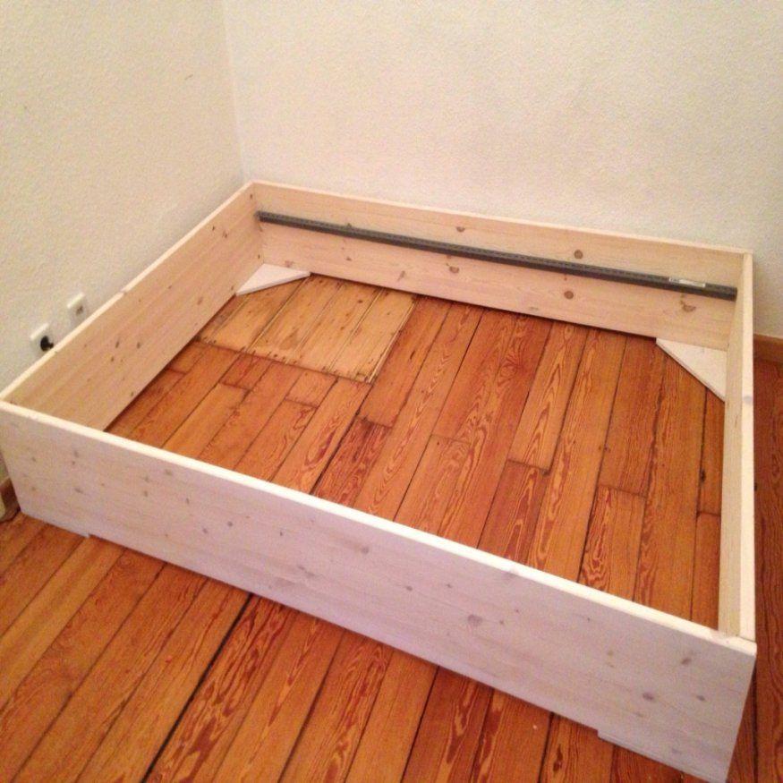 Ehrfurcht Gebietend Massivholz Bett Selber Bauen Massivholz Bett von Massivholz Bett Selber Bauen Bild