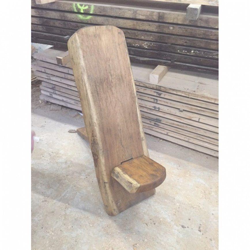 Eichenvollholz Stuhl Rustikal Eichen Möbel Wikinger Mittelalter von Wikinger Möbel Selber Bauen Bild