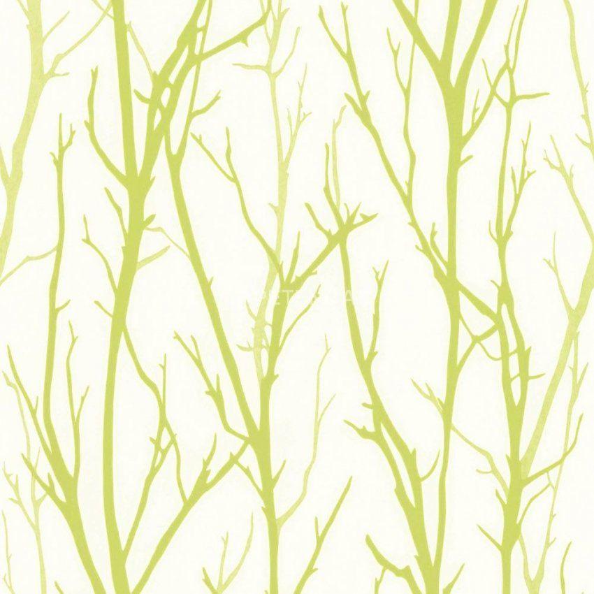 Ein Modernes Muster In Weißgrün Zeigt Die Vliestapete 268327 Aus von Schöner Wohnen Tapete Grün Photo
