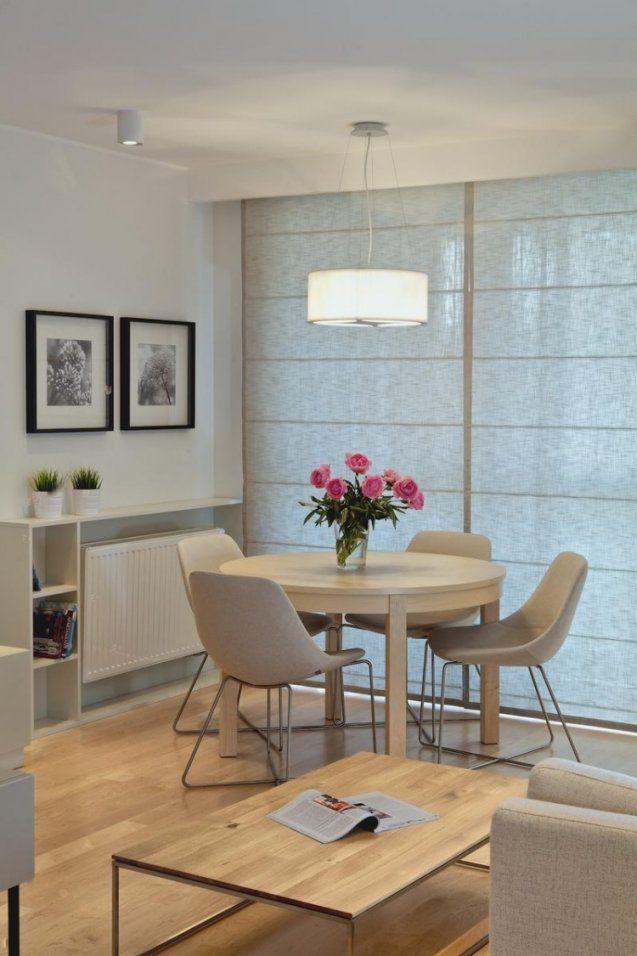 Ein Runder Esstisch Ist Die Perfekte Lösung Bei Platzmangel von Kleines Wohnzimmer Mit Esstisch Photo