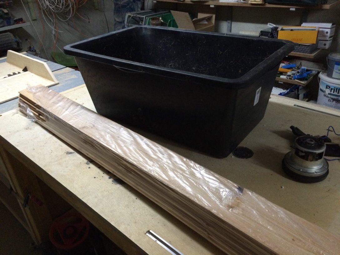 Einen Pflanzkübel Aus Douglasieholz Selber Bauen – Diy von Blumenkübel Aus Holz Selber Bauen Bild