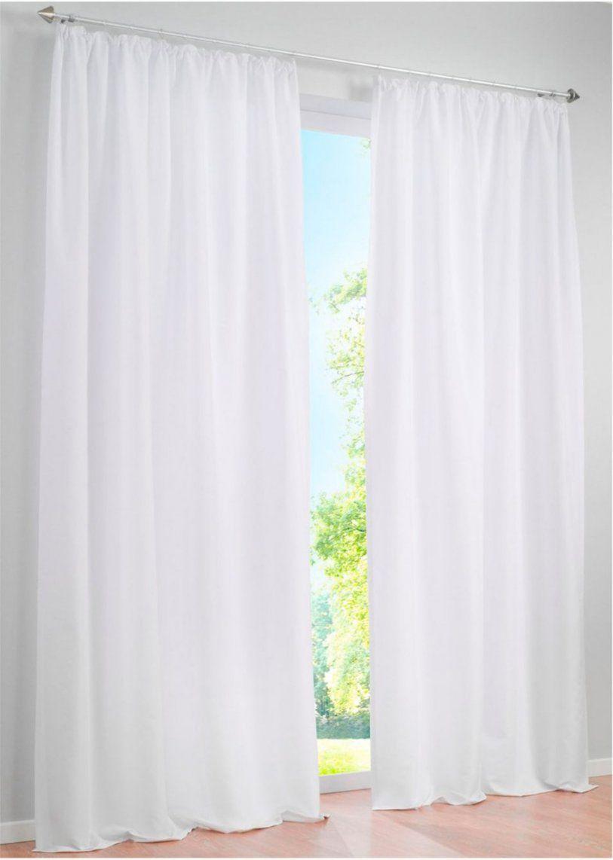 Einfach Schön Unifarbener Vorhang Zur Dezenten Gestaltung Ihres von Bonprix Gardinen Mit Ösen Photo