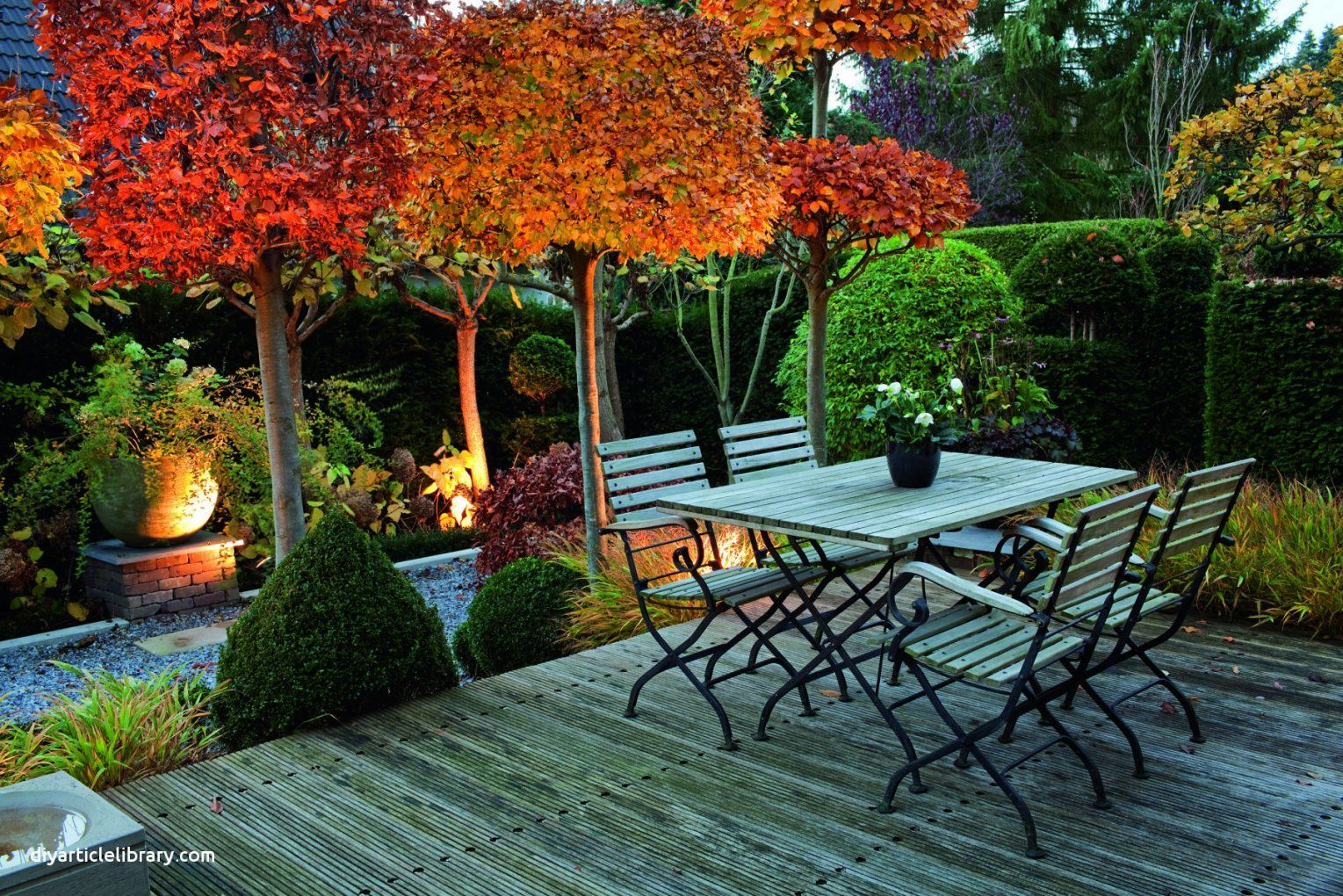 Einfache Kleines Büro Einrichten Ideen Der Mein Schöner Garten von Mein Schöner Garten Sichtschutz Ideen Photo