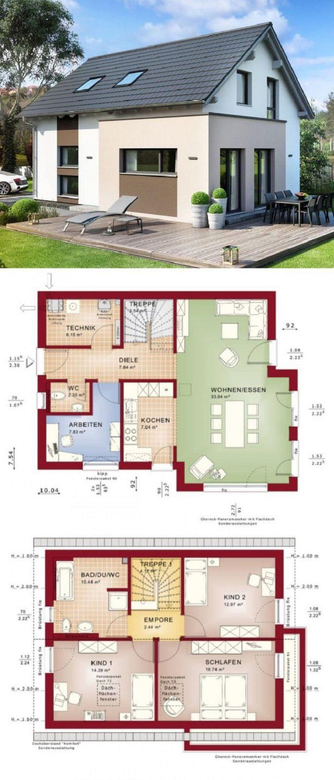 Einfamilienhaus Neubau Klassisch Mit Satteldach Architektur & Erker von Bien Zenker Edition 1 Bild