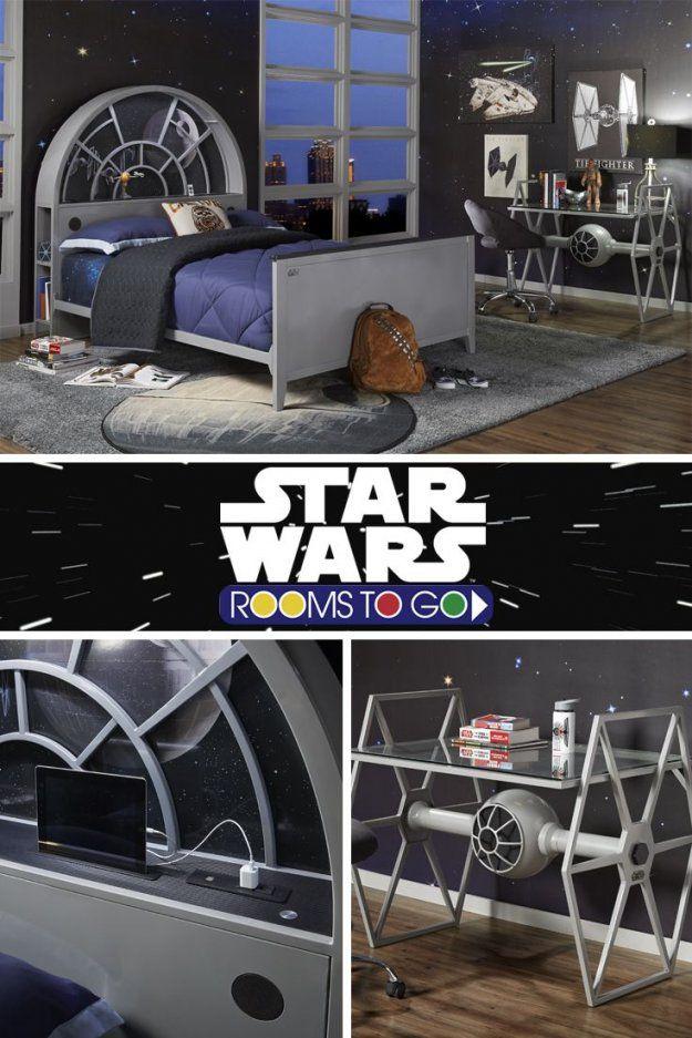 Einrichtung Star Wars Kinderzimmer  Kinderzimmer Star Wars von Star Wars Kinderzimmer Einrichtung Bild