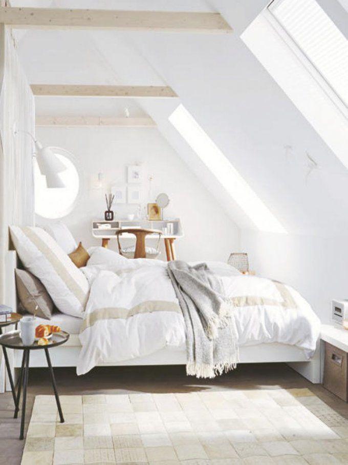 Einrichtungsideen Zimmer Mit Schrgen  Ziakia  Dachschrägen von Einrichtungsideen Schlafzimmer Mit Dachschräge Bild