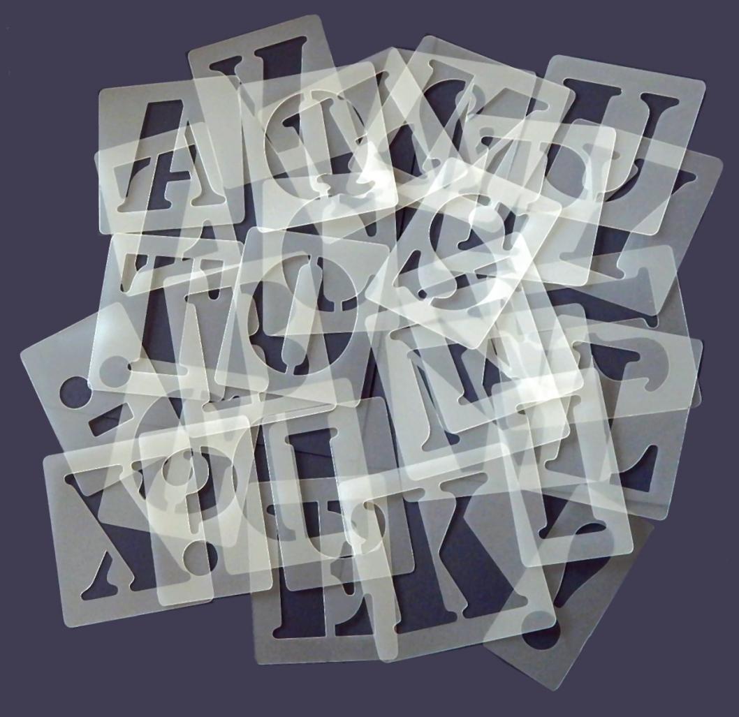Einzelne Buchstaben Wandmalmotivschablonen Druckbuchstaben Höhe von Buchstaben Schablonen Für Die Wand Photo