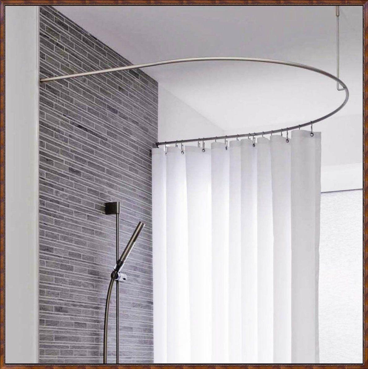 Einzigartig Duschvorhang Halterung Badewanne Jz83 Hitoiro Von von Duschvorhang Halterung Für Badewanne Bild