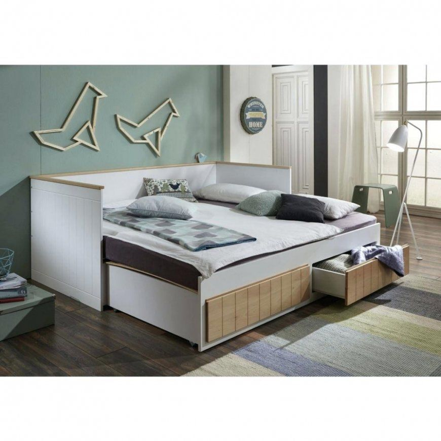 ausziehbares bett gleiche h he haus design ideen. Black Bedroom Furniture Sets. Home Design Ideas